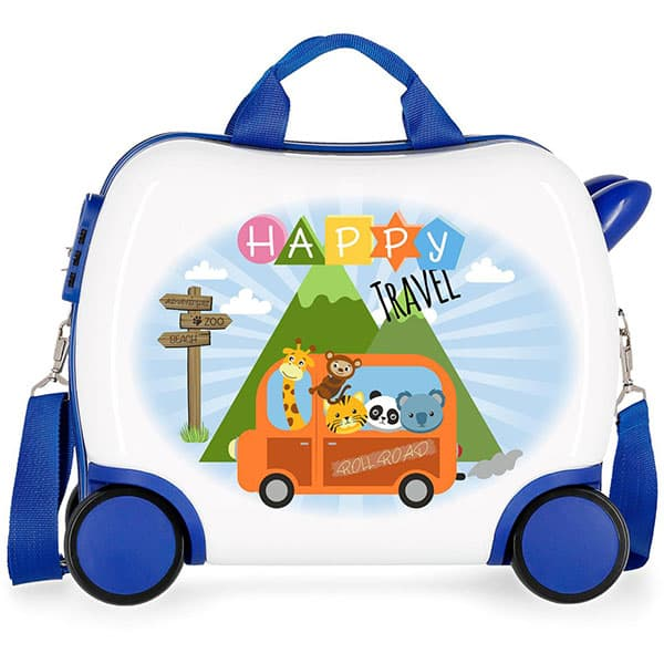 Troler copii ROLL ROAD Little Me Happy 47410.61, 41 cm, multicolor