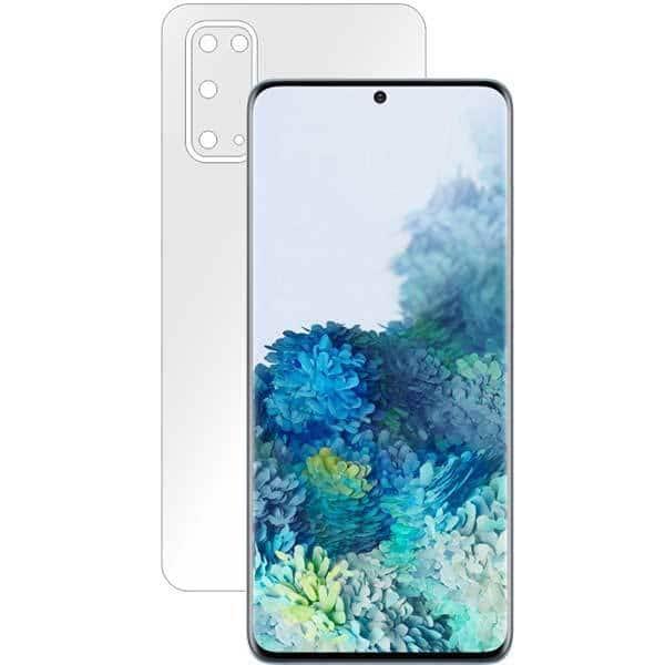 Folie protectie pentru Samsung Galaxy S20, SMART PROTECTION, polimer, spate si laterale, transparent