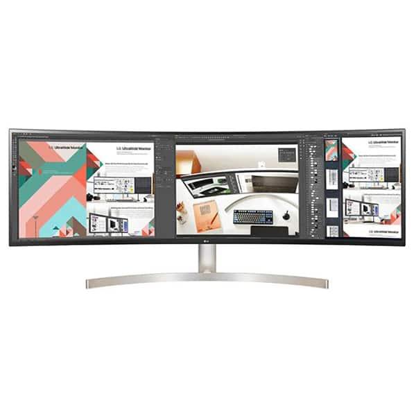 "Monitor curbat LED IPS LG 49WL95C-W, 49"" Dual QHD, HDR 10, 60Hz, alb"