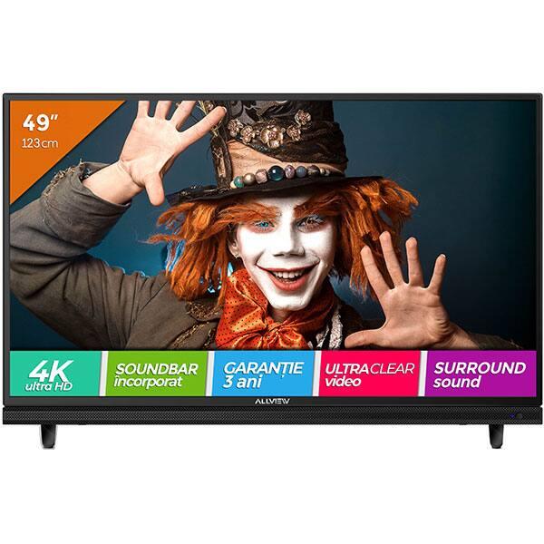Televizor LED ALLVIEW 49ATC5000-U, Ultra HD 4K, 123 cm