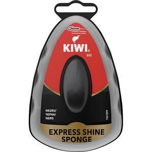 Burete cu silicon pentru incaltaminte KIWI Express Shine, negru, 7ml