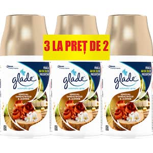 Rezerva GLADE Automatic Spray Bali Sandalwood, 3x269 ml