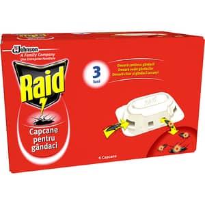 Capcane anti-gandaci RAID, 6 bucati