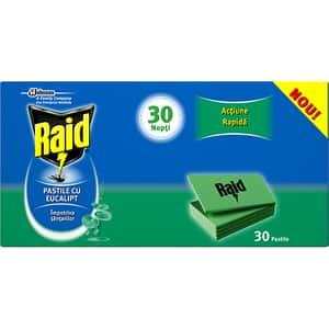 Pastile anti-tantari RAID Eucalipt, 30 buc