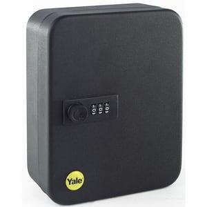 Cutie chei YALE YKB/200/CB2, Inchidere cifru, 365 x 300 x 100 mm, negru