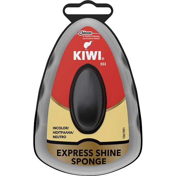 Burete cu silicon pentru incaltaminte KIWI Express Shine, incolor, 7ml