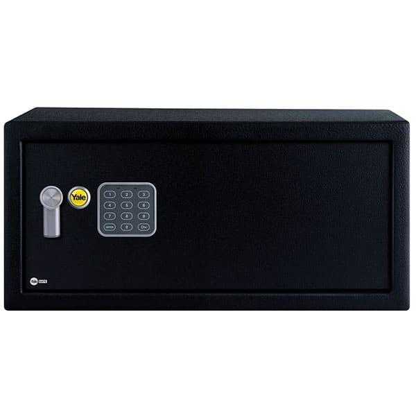 Seif pentru laptop YALE YLV/200/DB1, Inchidere electronica, 200 x 430 x 350 mm, negru