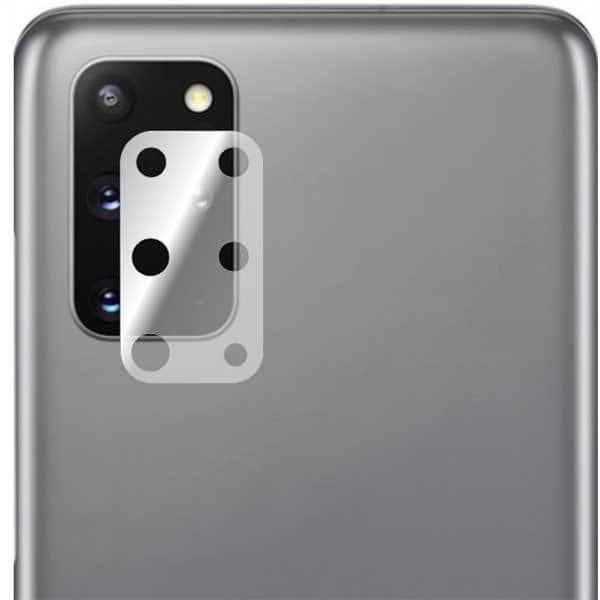 Folie protectie pentru Samsung Galaxy S20 Plus, SMART PROTECTION, 2 folii incluse, polimer, camera foto, transparent
