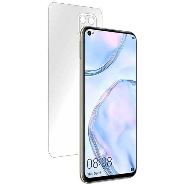 Folie protectie pentru Huawei P40 Lite, SMART PROTECTION, polimer, spate si laterale, transparent