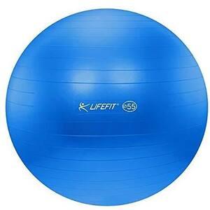 Minge gimnastica DHS 529FGYM8512, 85 cm, albastru