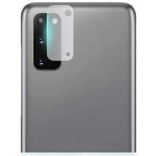 Folie Tempered Glass pentru Samsung Galaxy S20 Plus, SMART PROTECTION, camera foto, transparent