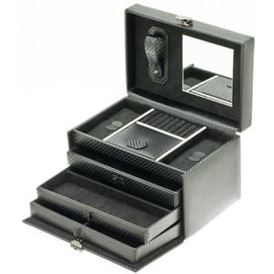 Cutie bijuterii  DAVIDTS Graphite, 24cm, negru