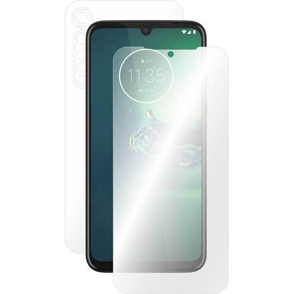 Folie protectie pentru Motorola Moto G8 Plus, SMART PROTECTION, polimer, fullbody, transparent
