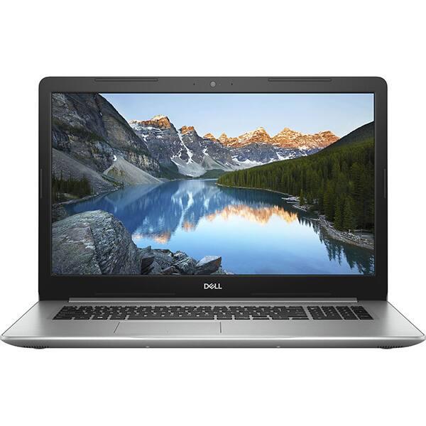 """Laptop DELL Inspiron 5770, Intel® Core™ i7-8550U pana la 4.0GHz, 17.3"""" Full HD, 8GB, 1TB + SSD 128GB, AMD Radeon 530 4GB, Ubuntu"""