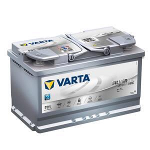 Baterie auto Start-stop plus VARTA F21 Silver Dinamic AGM, 12V, 80Ah, 800A