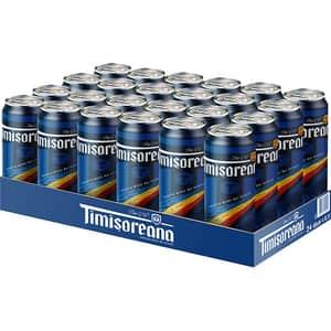 Bere blonda Timisoreana bax 0.5L x 24 doze