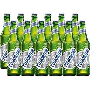Bere fara alcool Tuborg bax 0.33L x 12 sticle