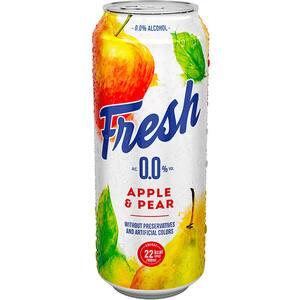 Bere cu arome fara alcool Fresh Mere&Pere bax 0.5L x 24 cutii