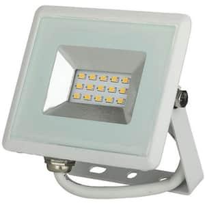 Proiector LED V-TAC 5945, 10W, 850 lumeni, IP65, lumina rece, alb