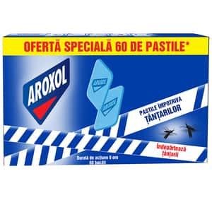 Pastile anti-tantari AROXOL, 60 buc