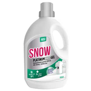 Solutie pentru indepartarea petelor SNOW Platinum White Gel, 950ml