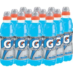 Bautura energizanta GATORADE Cool Blue bax 0.5L x 12 sticle