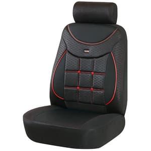 Set huse scaune OTOM Silver 609, negru-rosu