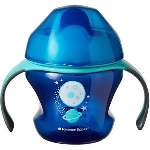 Cana TOMMEE TIPPEE Explora First Trainer TT0078, 4 luni+, 150 ml, albastru inchis