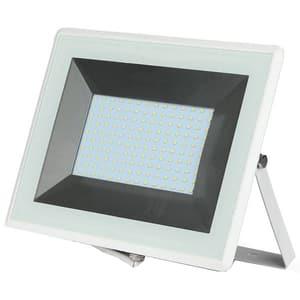 Proiector LED V-TAC 5967, 100W, 8500 lumeni, IP65, lumina calda, alb