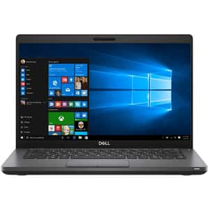 "Laptop DELL Latitude 5401, Intel Core i7-9850H pana la 4.6GHz, 14"" Full HD, 16GB, SSD 512GB, Intel UHD Graphics 630, Windows 10 Pro, negru"