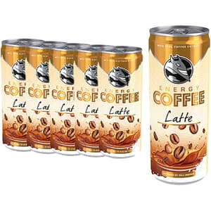 Bautura cafea HELL ENERGY Latte bax 0.25L x 6 cutii