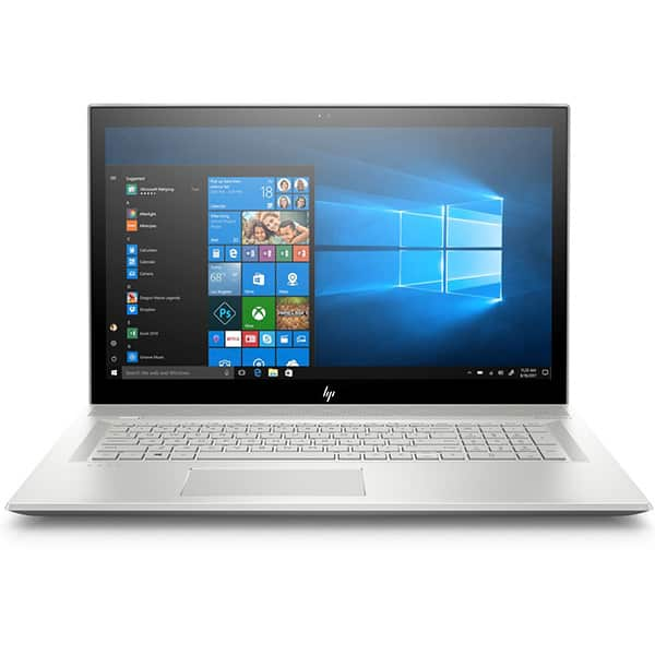 "Laptop HP Envy 17-bw0000nq, Intel Core i7-8550U pana la 4.0GHz, 17.3"" 4K, 16GB, SSD 512GB, NVIDIA Geforce MX150 4GB, Windows 10 Home"