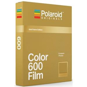 Film Instant color POLAROID Originals Gold Frame Edition, pentru Polaroid 600