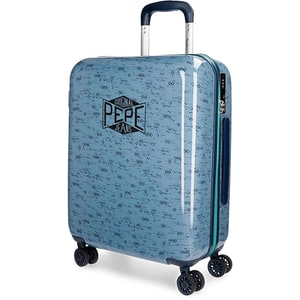 Troler PEPE JEANS LONDON Pierce, 55 cm, albastru