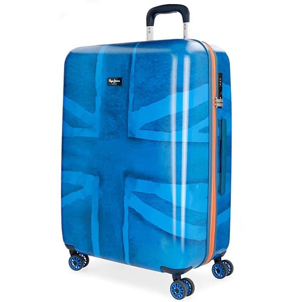 Troler PEPE JEANS LONDON Fabio, 69 cm, albastru