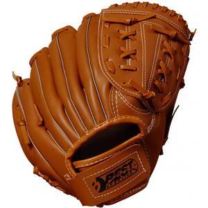 Manusi baseball BEST SPORTING 63012, 28 cm, piele eco, maro