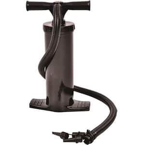 Pompa de mana dubla BEST SPORTING 64549, 40cm, plastic, negru