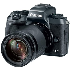 Camera foto Mirrorless CANON EOS M50, 24.1 MP, Wi-Fi, negru + Obiectiv M18-150mm SEE