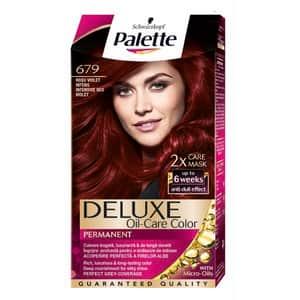 Vopsea de par PALETTE Deluxe, 679 Rosu Violet Intens, 115ml