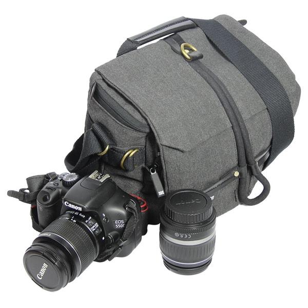 Geanta camera foto PROMATE Xplore-S, gri