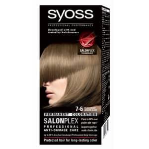 Vopsea de par SYOSS Color Bl, 7-6 Blond Mediu, 115ml