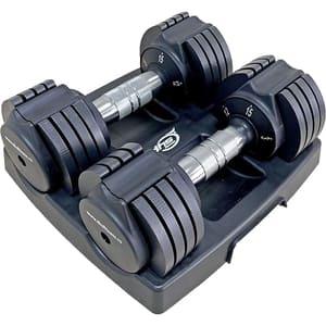 Gantere DHS 5013, 2 x 7 kg, negru