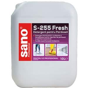 Solutie de curatare pardoseli SANO Professional S-255 Fresh, 10 l