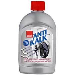 Solutie anticalcar pentru masina de spalat rufe SANO Anti Kalk, 500 ml