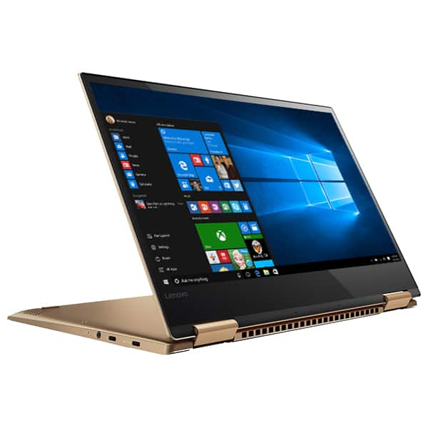 "Laptop 2 in 1 LENOVO Yoga 720-13IKB, Intel® Core™ i7-8550U pana la 4.0GHz, 13.3"" Full HD Touch, 8GB, SSD 512GB, Windows 10 Home, Copper"
