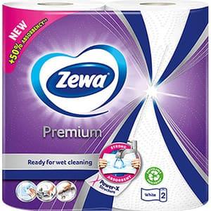 Prosoape de hartie Zewa Premium, 2 straturi, 2 role, 45 foi