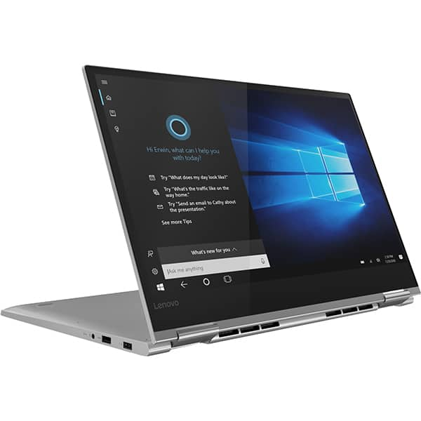 "Laptop 2 in 1 LENOVO Yoga 730-15IKB, Intel® Core™ i7-8550U pana la 4.0GHz, 15.6"" Full HD Touch, 16GB, SSD 1TB, NVIDIA GeForce GTX 1050 4GB, Windows 10 Home, Platinum"