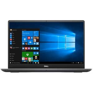 "Laptop DELL Vostro 7590, Intel Core i7-9750H pana la 4.5GHz, 15.6"" Full HD, 16GB, SSD 512GB, NVIDIA GeForce GTX 1650 4GB, Windows 10 Pro, gri"