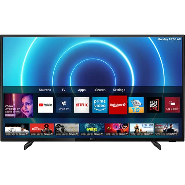 Televizor LED Smart PHILIPS 58PUS7505/12, 4K Ultra HD, HDR10+, 146 cm