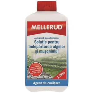 Solutie de curatare pentru indepartarea algelor si a muschiului MELLERUD, 1l